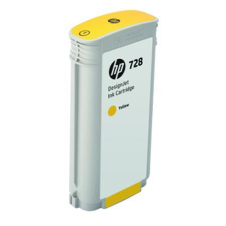 HP 728 130ml Yellow DesignJet Ink Cartridge