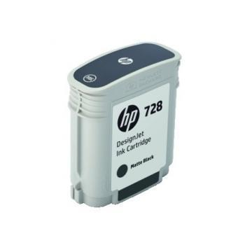 HP 728 69ml Matte DesignJet Black Ink Cartridge