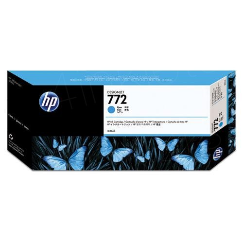HP 772 Cyan Ink Cartridge
