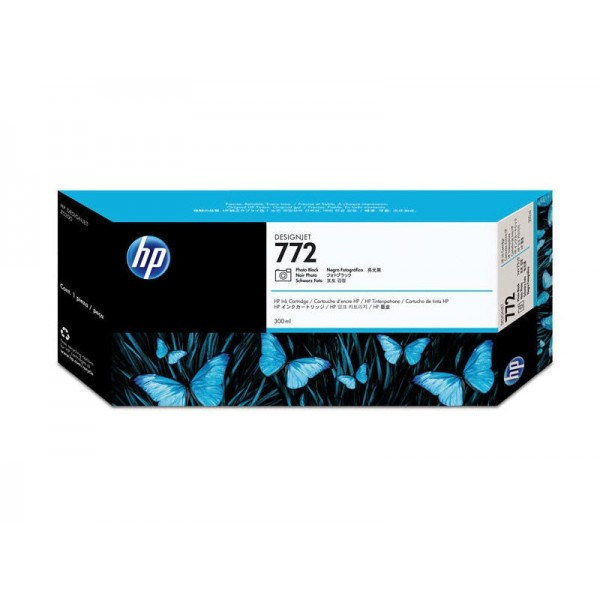 HP 772 Photo Black Ink Cartridge