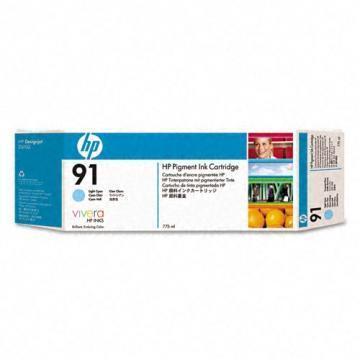HP 91 Light Cyan Ink Cartridge