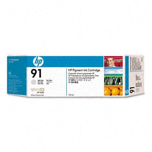 HP 91 Light Gray Ink Cartridge