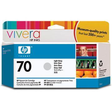 HP 70 Light Gray Ink Cartridge