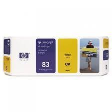 HP 83 Yellow UV Ink Cartridge