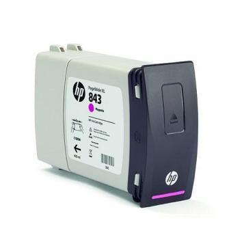 HP 843A 400ml Magenta Ink Cartridge