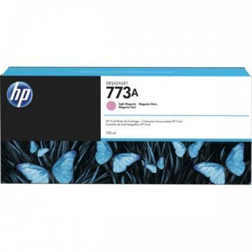 HP 773A 775ml Light Magenta Designjet Ink Cartridge