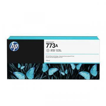 HP 773A 775ml Light Gray Designjet Ink Cartridge