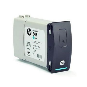 HP 843A 400ml Cyan Ink Cartridge