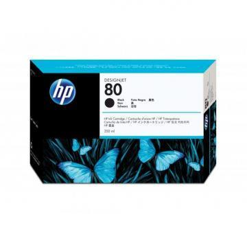 HP 80 Black Ink Cartridge 350ml