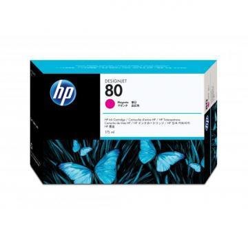 HP 80 Magenta Ink Cartridge 175ml