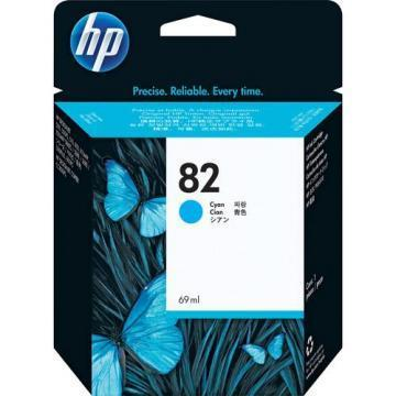 HP 82 Cyan Ink Cartridge 69ml