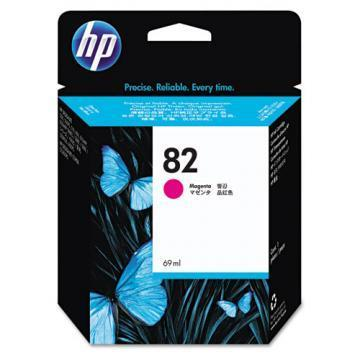 HP 82 Magenta Ink Cartridge 69ml