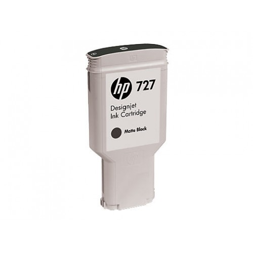HP 727 300ml Matte Black Designjet Ink Cartridge