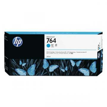 HP 764 300ml Cyan Designjet Ink Cartridge