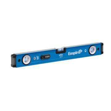 "Empire em95 24"" TRUE BLUE UltraView LED Magnetic Box Level"