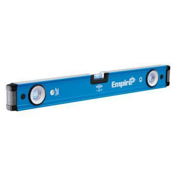 "Empire em75 24"" TRUE BLUE Magnetic Box Level"