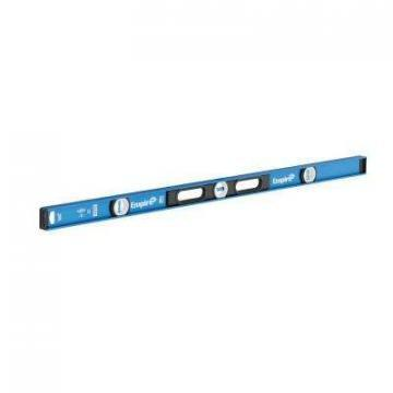 "Empire em75 96"" TRUE BLUE Magnetic Box Level"