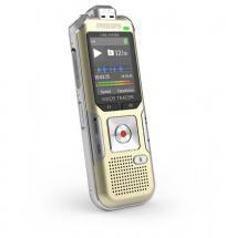 Philips Voice Tracer 6500 Digital Recorder, 4 GB, Gold