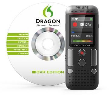 Philips Voice Tracer 2700 Digital Recorder with Speech Recognition, 4 GB