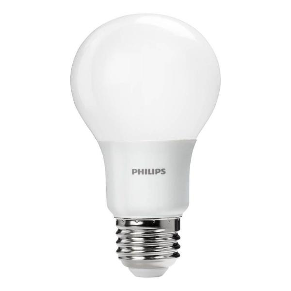 Philips LED Lamp, 450 lm, 8.0W, A-Shape, 5000K