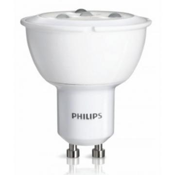 Philips LED Lamp, PAR16, 5.0W, 2700-2200K, GU10