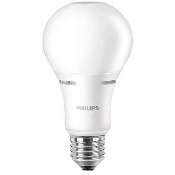 Philips LED Lamp, Non-Dimmable, A21, 2700K, 3 Way