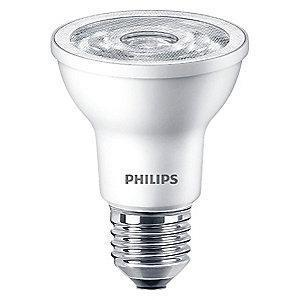 Philips LED Lamp, PAR20, 6.0W, 3000K, 35 deg.
