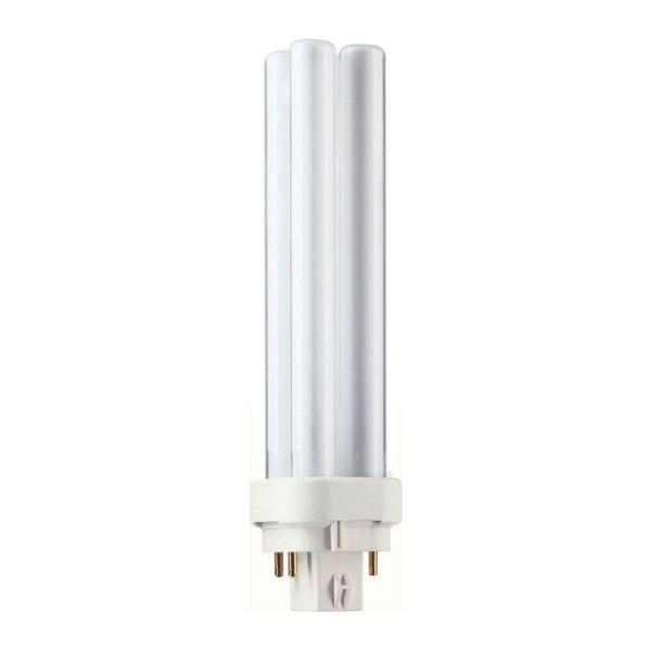 Philips CFL Lamp, 4-Pin, PL-C 13W/841/4P/ALTO