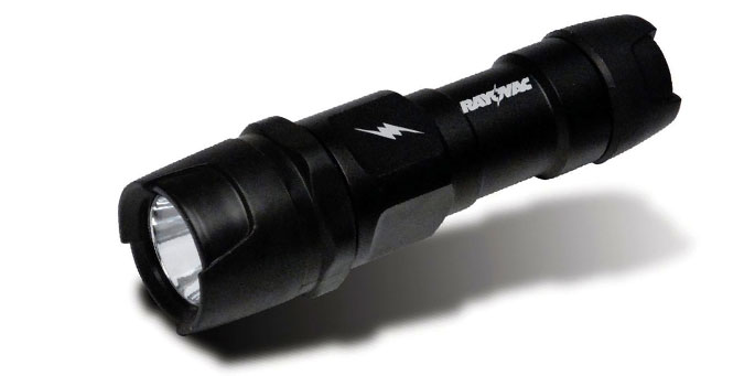 Rayovac Industrial Mini Flashlight, LED, Black
