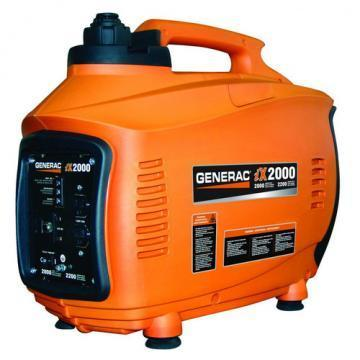 Generac Inverter Generator 2000 Watts Gas