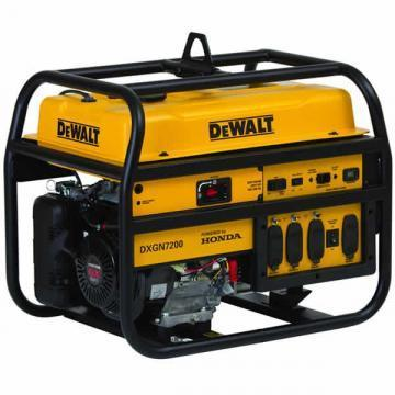 Dewalt Portable Generator 6100 Watts Gas