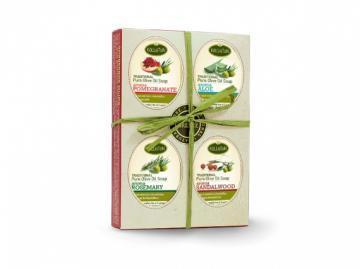 Kalliston Traditional Olive Oil Soap 4pcs Box