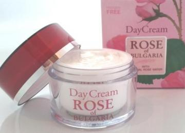 Rose of Bulgaria Day cream rosewater