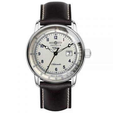 Zeppelin 7654-4 mechanic, Self-winding Men's Watch