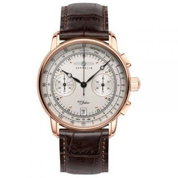 Zeppelin 7672-1 Quartz-controlled Chronograph
