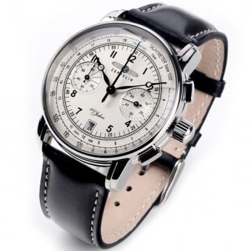 Zeppelin 7674-1 Quartz-controlled Chronograph