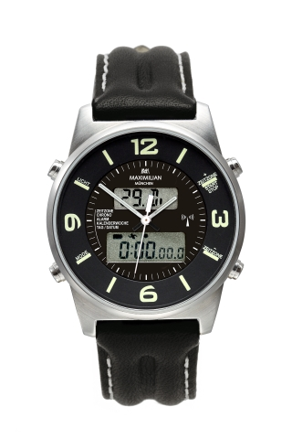 Maximilian 5402-2 AnaDigi Analog/Digital Watch