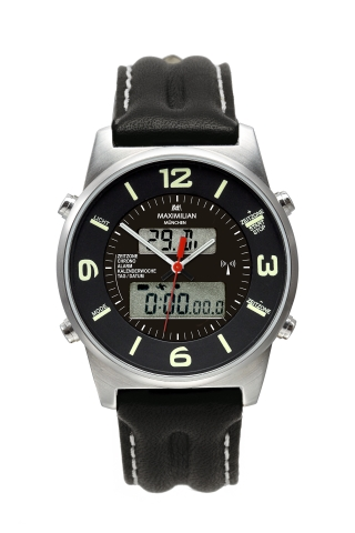 Maximilian 5402-3 AnaDigi Analog/Digital Watch
