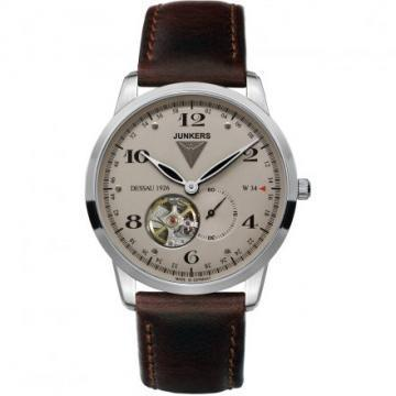 Junkers 6360-5 Dessau 1926 Flatline Open Heart Watch