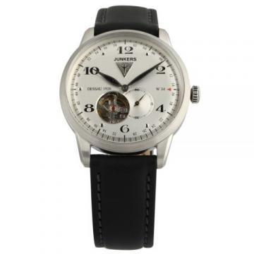 Junkers 6360-4 Dessau 1926 Flatline Open Heart Watch