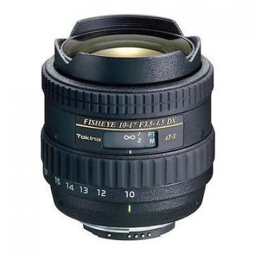 Tokina 10-17mm f/3.5-4.5 AT-X 107 DX AF Fisheye Lens for Nikon
