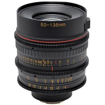 Tokina Cinema 50-135mm T3.0 Lens with Canon EF Mount