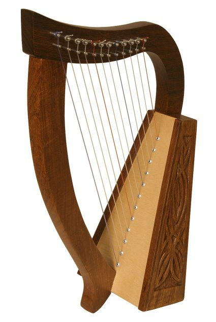 Roosebeck Baby Harp TM, 12 Strings