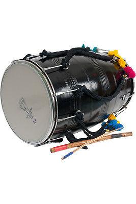 Banjira Dhol With Synthetic Heads 14x25""