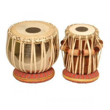 "Banjira Pro Tabla Set Copper Bayan And 5.25"" Dayan"