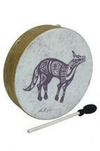 "Remo Buffalo Drum 14x3.5"" - Lone Coyote"