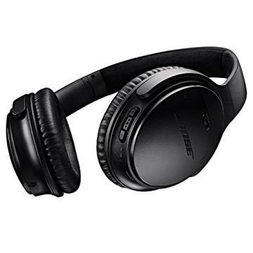 Bose QuietComfort 35 Noise-Cancelling Wireless Headphones, Black