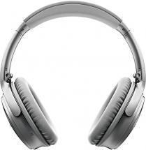 Bose QuietComfort 35 Noise-Cancelling Wireless Headphones, Silver