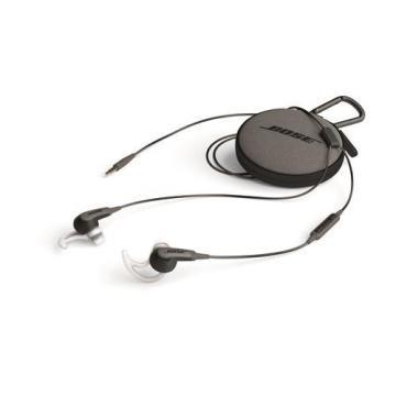 Bose SoundSport Earphones with Case, Apple compatible, Black