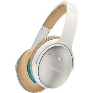Bose QuietComfort 25 Acoustic Noise-Cancelling Headphones White